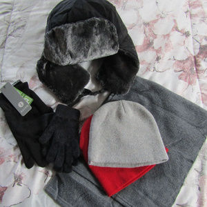 Hats - Gloves - Scarf - All NEW or Excellent